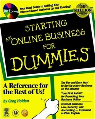 Starting an Online Business For Dummies by Holden, Greg Mixed media product The