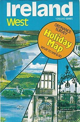 Ireland (West) Holiday Map: West No. 2 by Ordnance Survey Sheet map Book The
