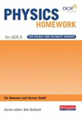 GCSE Science for OCR A Physics Homework Book by Smith, Mr Vernon Paperback Book