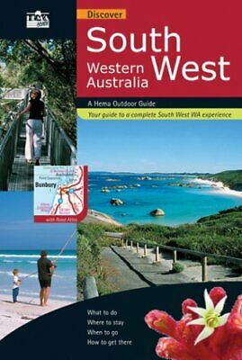 Discover South West Western Australia by O'Byrne, Denis Sheet map Book The Cheap