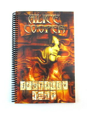 ALICE COOPER Live From Brutal Planet 2000 Tour Band & Crew Itinerary Book