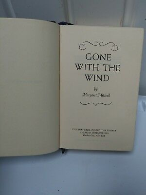 Gone With The Wind by Margaret Mitchell 1964