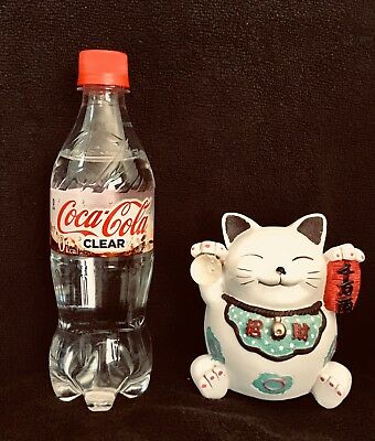FREE SHIP! Clear Coca Cola Limited Edition from Japan 2018 New 8 oz bottle.