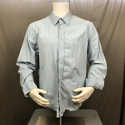 Marc Ecko No.72 Times Square New York Men's Button Front Lg Shirt #572