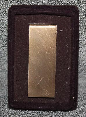 Vintage Brass Or Bronze Finish Money Clip #6