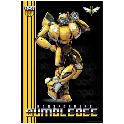 Bumblebee - Boombox POSTER 61x91cm NEW Transformers Autobot
