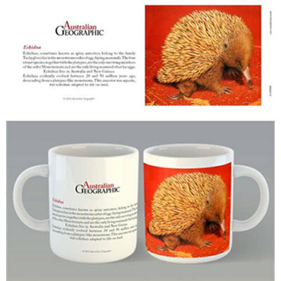 Australian Geographic - Echidna Mug x 2 BRAND NEW (Set of 2 Mugs)