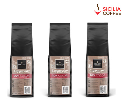 3kg Arkadia Drinking Hot Chocolate 20% Cocoa - Cappuccino Powder (Cafe Use)