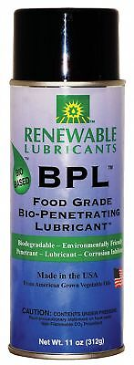 Renewable Lubricants Lubricant, 0°F to 280 Degrees F, No Additives, 16 oz.