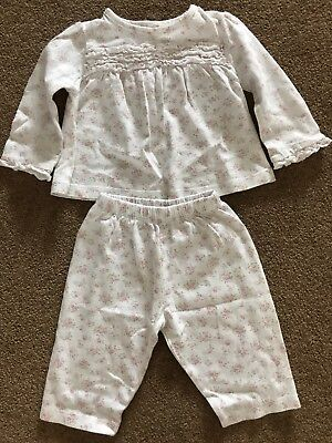 Baby Girls The Little White Company Pjs 0-3 Month