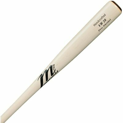 Marucci VW10 Pro Maple White Wash Wood Baseball Bat