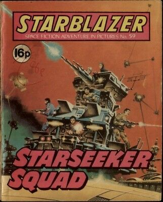 Starseeker Squad ,starblazer Space Fiction Adventure In Pictures,no.59,1981