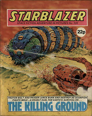 The Killing Ground,starblazer Space Fiction Adventure In Pictures,no.131,1984