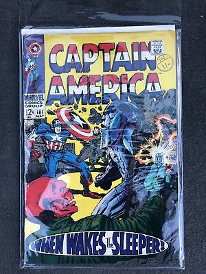 Captain America Vol. 1 (1968-2012) #101 FN/VF