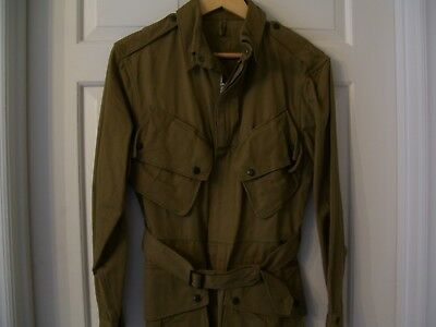 WWII WW2 Original Unissued US Army Paratrooper Airborne Jump Jacket with QM Tag