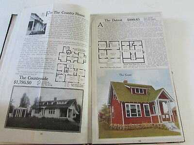 1916 Aladdin Homes Architecture House Plans Catalog Guide Bay City Michigan