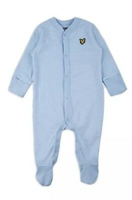 Lyle And Scott Baby boys Blue Baby grow Gift Sets,3-6 Months, New With Tags