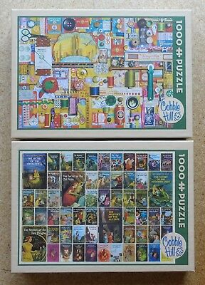 2 Puzzle Cobble Hill -je 1000 Teile- sehr guter Zustand