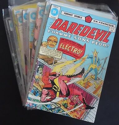 lot de 32 comics DAREDEVIL en Français n° 1 à 64 TBE