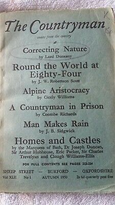 The Countryman Magazine~Book~ 1950~ Correcting Nature ~ Round thd World in 84