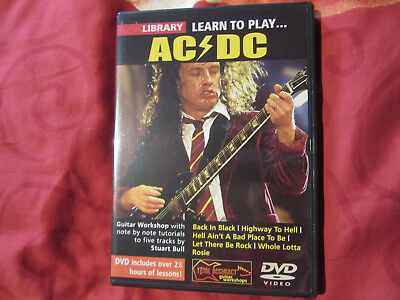 Lick Library: Learn To Play AC/DC Gitarre DVD