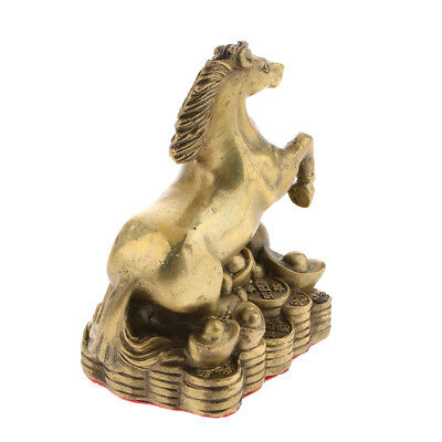 Zodiac Animal Horse Sculpture Chinese 12 Shengxiao Ornaments Home Fengshui