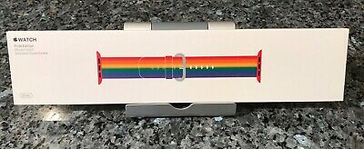 New SEALED Genuine 2017 38mm Apple  Watch Pride Edition Band - 1st Rainbow 40