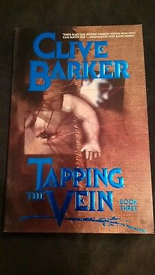 Clive Barker Tapping The Vein Graphic Novel Book 3 Uk First Print