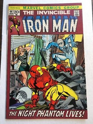 Iron Man 44 VF/NM 9.0 Tough Book In Higher Grade! Picture Frame Marvel