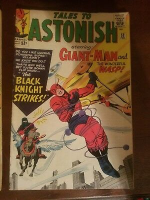 Tales to Astonish 51, 52, 53 (Marvel 1964) with Giant-Man and Wasp