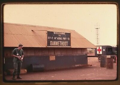 Vietnam Slide- Army GI w/134TH AVN CO-260TH TC DET 'DELTA RIDERS' CAN THO AO #6
