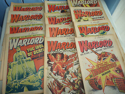 Bundle Of 18  Warlord Comics All From 1975