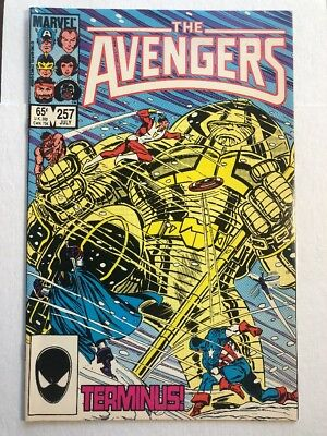 The Avengers 257 9.4/6 NM/NM+ 1st Appearance Of Nebula! Guardians Marvel