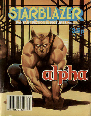 Alpha,starblazer Space Fiction Adventure In Pictures,no.277,1990