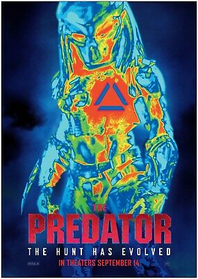 The Predator Large Movie Poster Art Print A0 A1 A2 A3 A4 Maxi