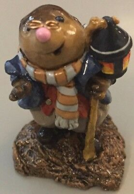 Wee Forest Folk Retired Mr Mole - M61