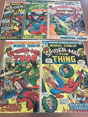 Marvel Team-Up # 2, 3, 4, 6, And 7 Lot of 4