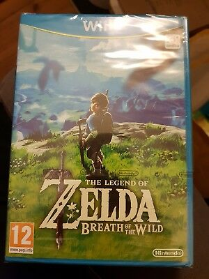 The Legend of Zelda Breath of the Wild (Nintendo Wii U 2017) - New and Sealed