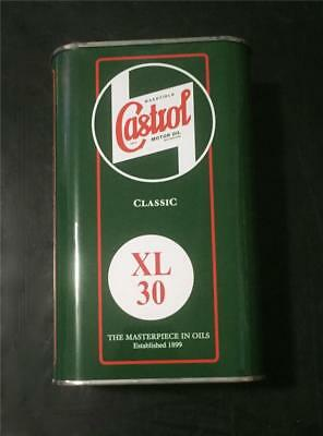 Castrol Classic Xl30 Motor & Transmission Oil 1 Liter In Vintage Style Tin
