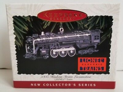 Hallmark Christmas Ornament Lionel 700E Hudson 5344 STEAM LOCOMOTIVE TRAIN No. 1