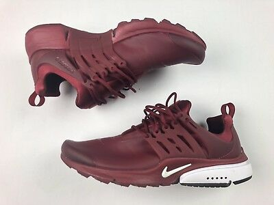 "Nike Air Presto Low Utility Size 10 Mens ""Team Red"" 862749-600 Rare Running"