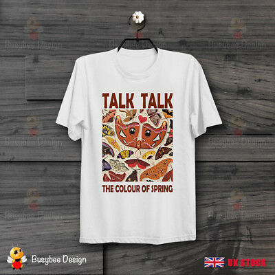 Talk Talk The Colour Of Spring Synthpop CooL Vintage Unisex T Shirt B388