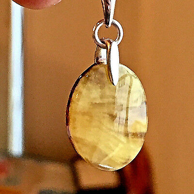 Baltic Amber Necklace Genuine Russian Vintage Butterscotch Egg Yolk Polish 老琥珀