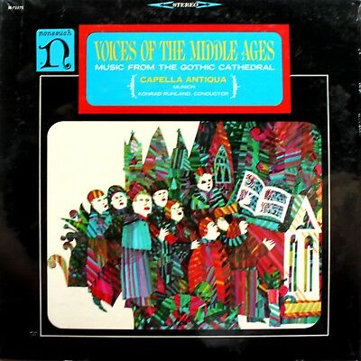 Voices Of The Middle Ages - Music From The Gothic Cathedral - Sealed LP