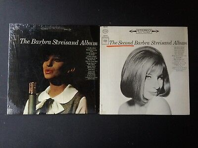 LOT OF 2 Barbra Streisand ‎RECORDS ~1963yr