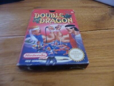 Double Dragon Nintendo Nes Boxed And Complete Pal