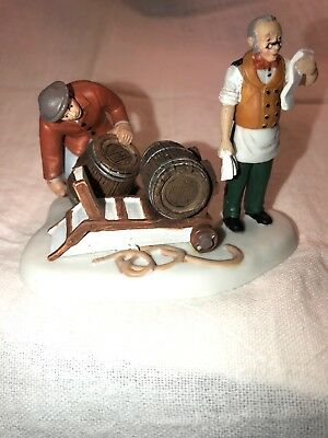 Department 56 Dickens' Village Series Stocking Up 4021980 2011