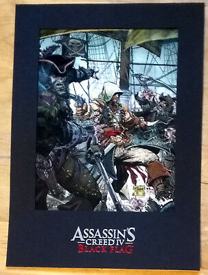 Assassins Creed Black Flag Video Game Limited Edition Cel Art Print in Mat