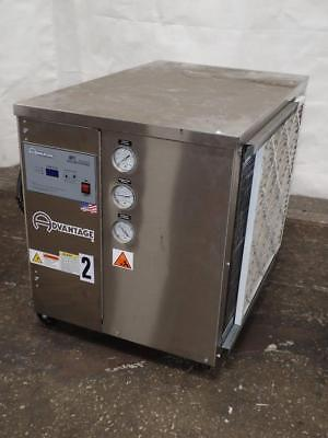 2 Ton Air-Cooled Chiller Stainless Industrial Water Chiller - ADVANTAGE M1-2A-CH