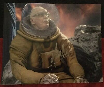 Stan Lee Hand Signed 8x12 Photo